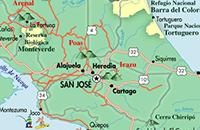 Ver Mapas de Costa Rica