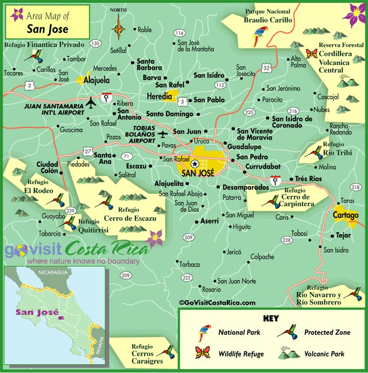 Mapa del Metro San Jose